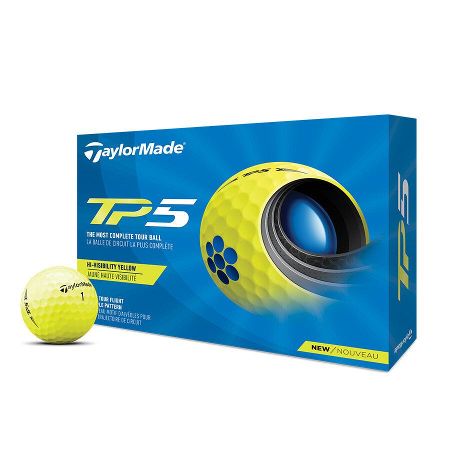 TP5 Yellow Golf Balls image number 0