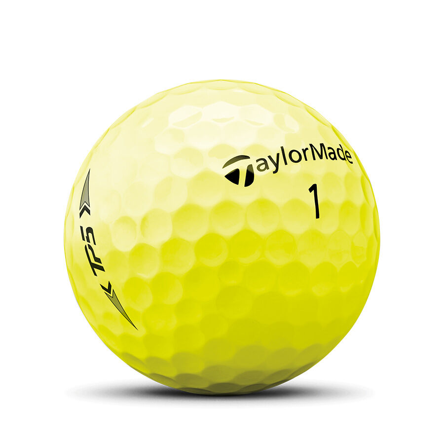 TP5 Yellow Golf Balls image number 1